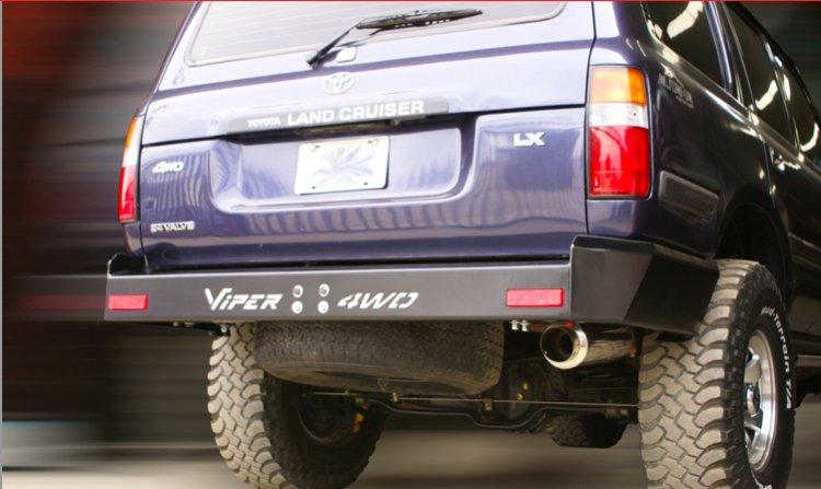 VPR 4X4 Toyota Land Cruiser 80 Series Ultima Rear Bumper FZJ80 F