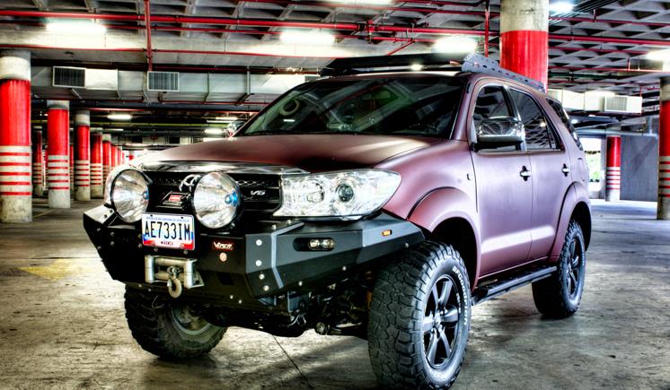 VPR 4x4 Toyota Fortuner 05-10 Front Ultima Bumper [VPR_PD