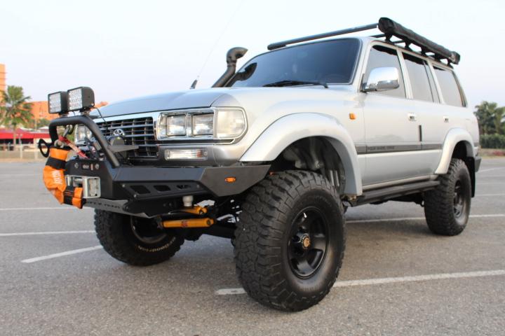 VPR4x4 80 Series Toyota Landcruiser Rally Bull Bar Bumper LC80