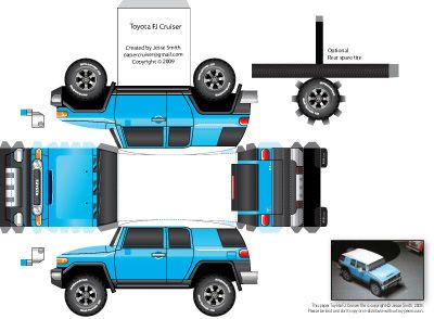 Fold-Up-Paper-FJ-Cruiser