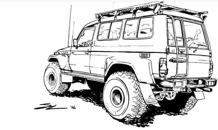 LC70-Troopy-Outline