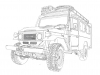 40-series-troopy-outline