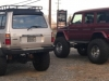 Ron's FZJ80 on 40's rear