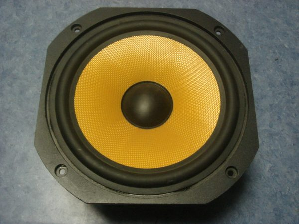"Kevlar cone and rubber surround 8"" Audax Woofer"