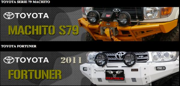 VPR 79 and Fortuner applications available from Extreme Landcruiser