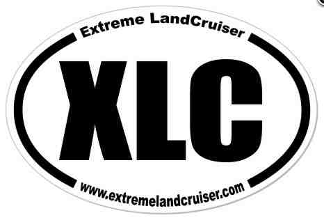 Extreme Landcruiser Team XLC Badge