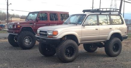 Customer Self Built Vehicles Extreme Landcruiser