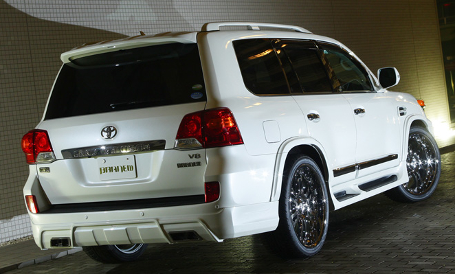 200 Series Landcruiser Rear Bumper by Branew Distributed by Extreme Landcruiser