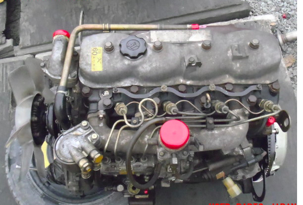 Toyota 2B Diesel Engine from a BJ44V