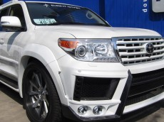 Extreme Landcruiser Presents the Eight 8 Star Wide Body Aero Kit for the 2008-2015 LC200