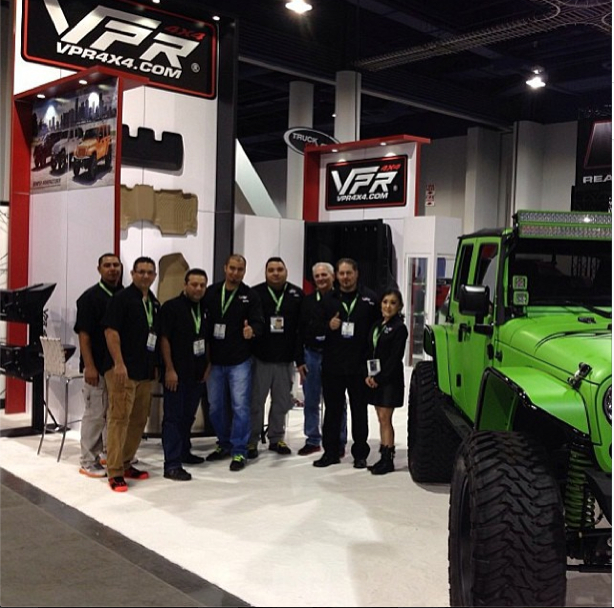 Extreme Landcruiser At VPR4x4 Booth at SEMA 2013