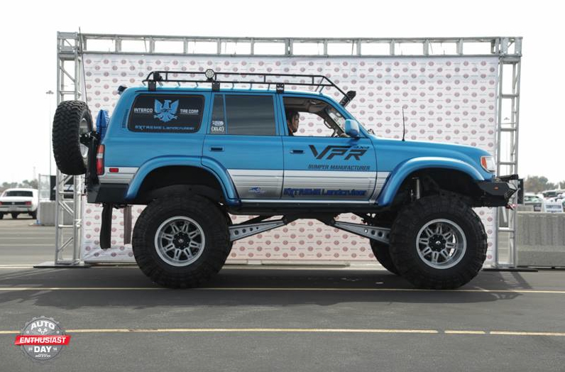 Extreme Landcruiser XLC80 Arctic wins Nitto Auto Enthusiast Day 2014