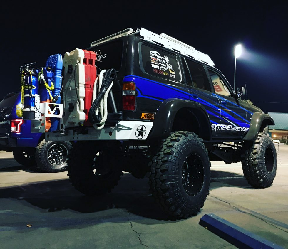 Extreme Landcruiser 80 Series SEMA Battle of the Builders Recovery Vehicle
